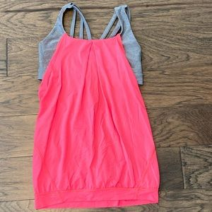 Size 8 Lululemon Flash Light Nouveau Limits Tank